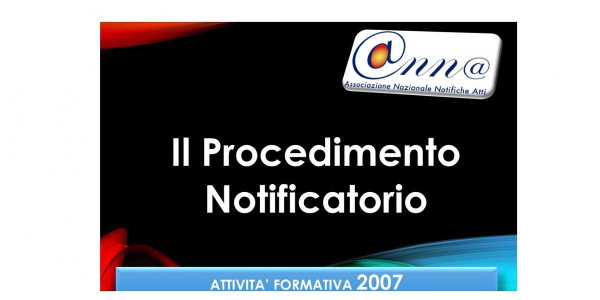 Attività Formativa 2007a