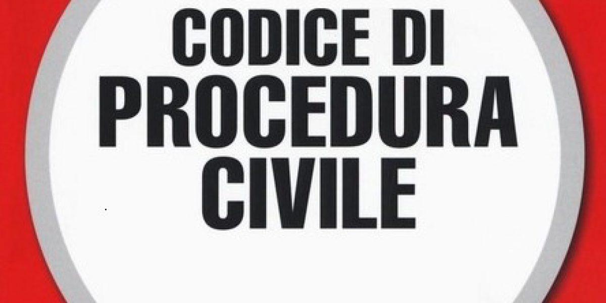 Codice procedura civile