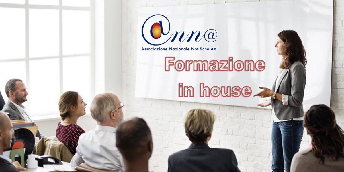 Corso formazione in house