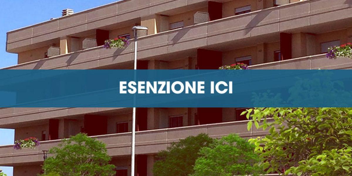 Esenzione ICI