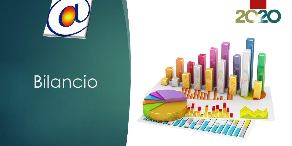 Locandina Relazione di bilancio 2020