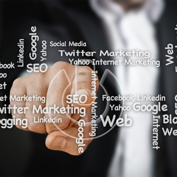 social media, businessman, finger